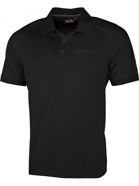 High Colorado Seattle Poloshirt Herren schwarz